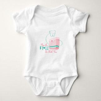 La seda esté con usted body para bebé