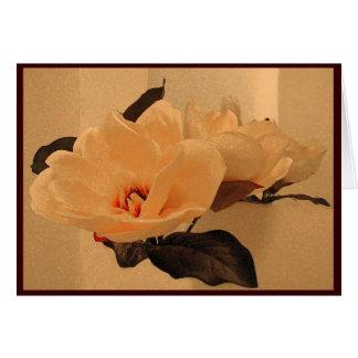 La seda florece Pascua Tarjeta De Felicitación