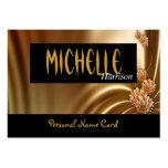 La seda personal de la tarjeta de presentación del plantilla de tarjeta personal
