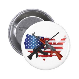 La segunda derecha de la enmienda de llevar el bot pin