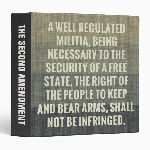 La segunda enmienda