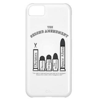 ¡La segunda enmienda… no será abreviada! Funda Para iPhone 5C