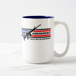 La segunda enmienda no será taza infringida