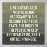 La segunda enmienda poster