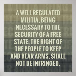 La segunda enmienda póster