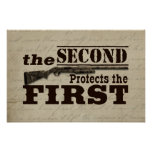 La segunda enmienda protege la Primera Enmienda Impresiones