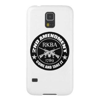 La segunda enmienda viene tomarle RKBA AR Funda De Galaxy S5
