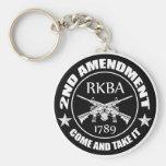 La segunda enmienda viene tomarle RKBA AR Llaveros