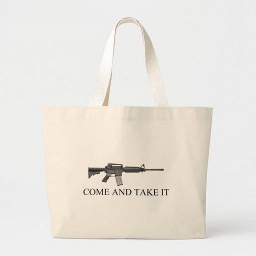 La segunda enmienda viene tomarlo bolsa