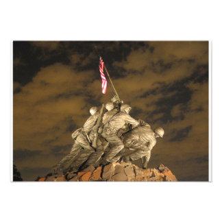 La Segunda Guerra Mundial Iwo Jima Arlington conme Anuncio Personalizado
