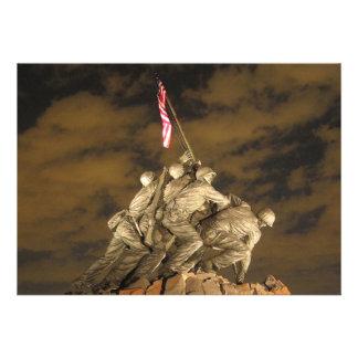 La Segunda Guerra Mundial Iwo Jima Arlington conme Comunicados Personales