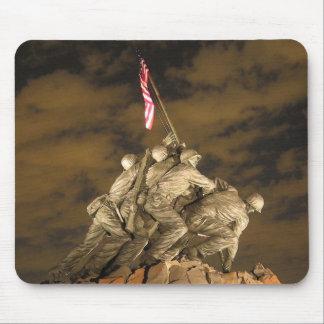 La Segunda Guerra Mundial Iwo Jima Arlington conme Mousepad