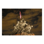 La Segunda Guerra Mundial Iwo Jima Arlington conme Impresiones