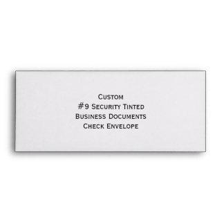 La seguridad de encargo #9 teñió sobres del