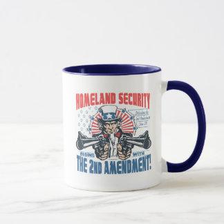 La seguridad de patria comienza con la 2da taza