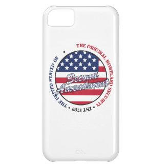 La seguridad de patria original - segunda enmienda funda para iPhone 5C