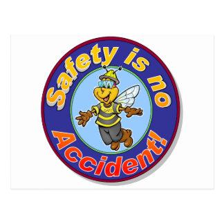 La seguridad no es ningún accidente postal