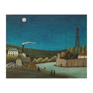 La Seine a Suresnes by Henri Rousseau, Vintage Art