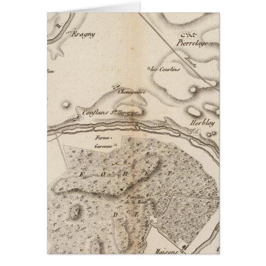 La Seine, l'Oise Card