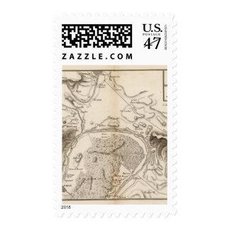 La Seine, l'Oise Postage Stamp