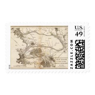 La Seine Postage Stamp