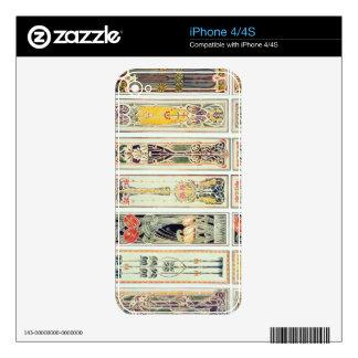 La selección del panel diseña, la placa IX de 'mod Skins Para iPhone 4