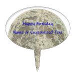 La selenografía o un mapa de Bowles de la luna - 1 Figuras De Tarta