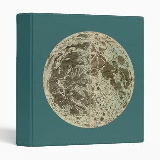"""La selenografía o un mapa de Bowles de la luna - Carpeta 1"""""""