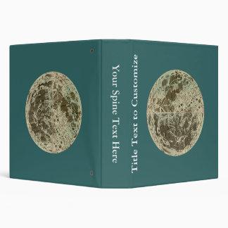 """La selenografía o un mapa de Bowles de la luna - Carpeta 1 1/2"""""""