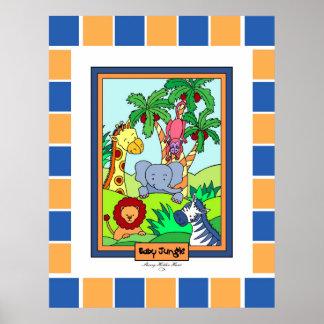 La selva 28 del bebé modificó 2 para requisitos póster