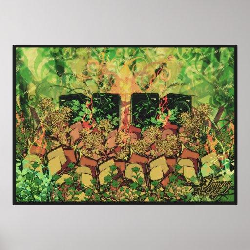 La selva habla póster