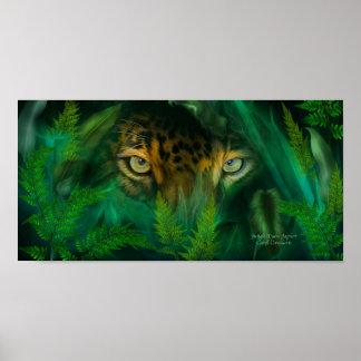 La selva observa - el poster/la impresión del arte