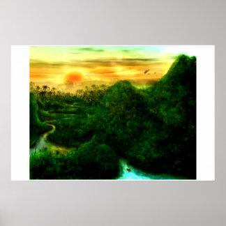 La selva poster
