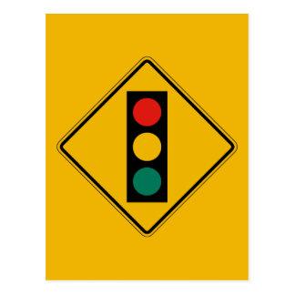 La señal a continuación, trafica la señal de postal