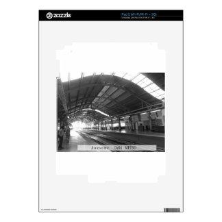 La señal ajardina el ferrocarril IMPRESIONANTE del Calcomanías Para iPad 2