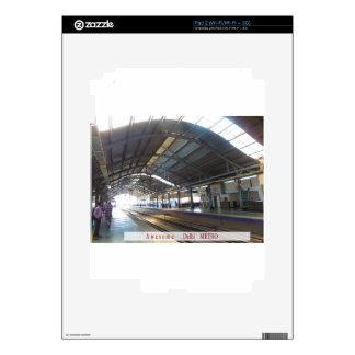 La señal ajardina el ferrocarril IMPRESIONANTE del iPad 2 Calcomanías