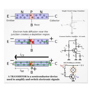 La señal electrónica amplifica el semiconductor de foto