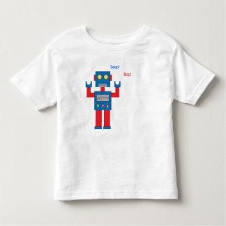 ¡La señal sonora del niño Bop! Camisa del robot