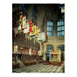 La señora capilla, comenzada en 1503 postal