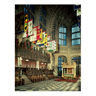 La señora capilla, comenzada en 1503 tarjeta postal
