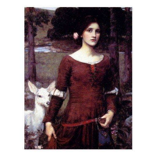 La señora Clare Postales