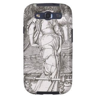 La señora clásica de Shalott enredó en Web Galaxy S3 Cobertura