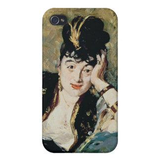 La señora con las fans iPhone 4 carcasas