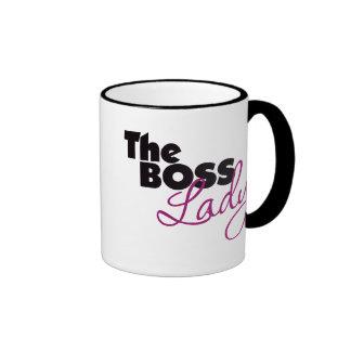 La señora de Boss Taza De Café