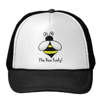 La señora de la abeja gorras