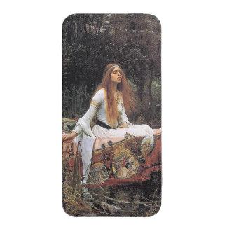 La señora de Shalott de John William Waterhouse Bolsillo Para iPhone