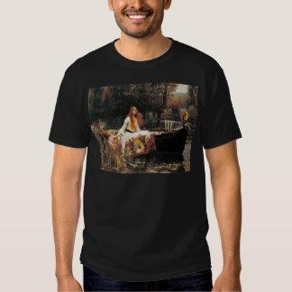 La señora de Shalott de John William Waterhouse Playera