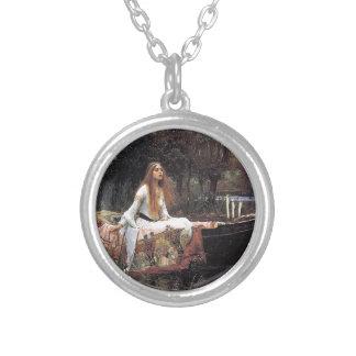 La señora de Shalott de Juan W. Waterhouse Joyerias