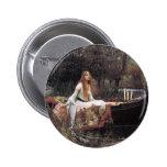 La señora de Shalott de Juan W. Waterhouse Pin