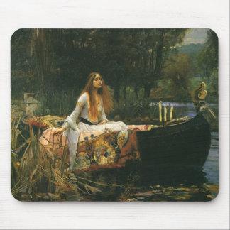 La señora de Shalott (en el barco) por el Alfombrilla De Ratón